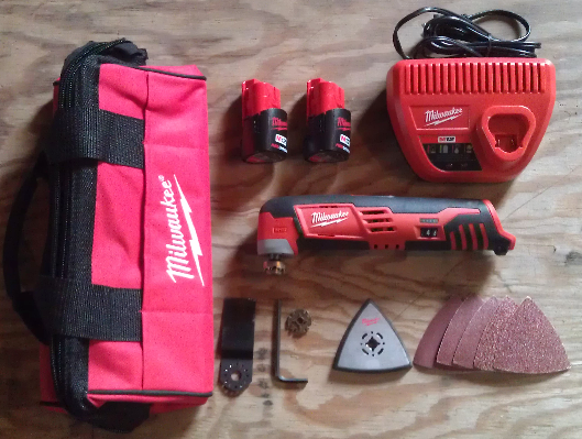 Milwaukee M12 Cordless Multi-Tool Kit