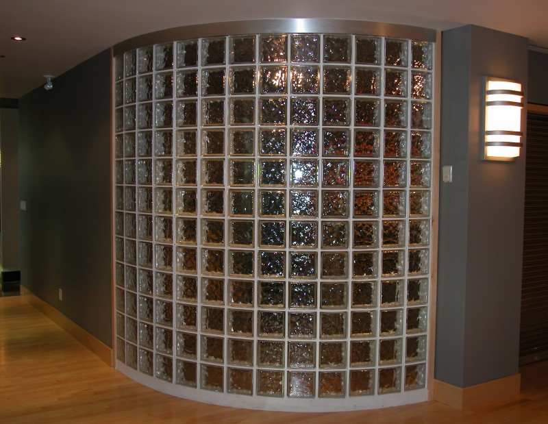 Windows home improvement stack exchange blog - Glass bricks designs walls ...