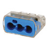 3-port large wire push-in connector