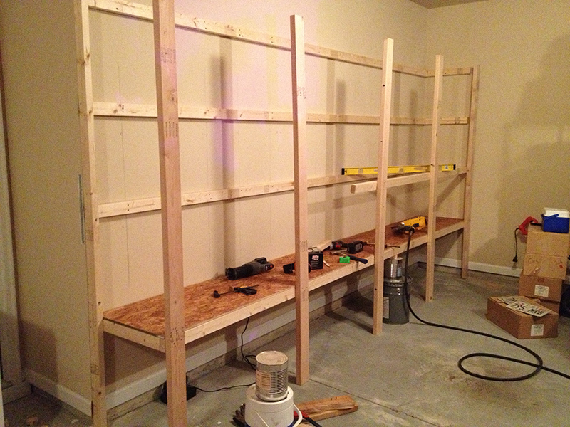how to build garage storage shelf | Woodworking Magazine Online